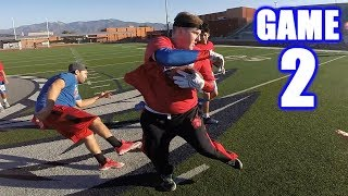 KNOCKING PEOPLE OUT OF THE GAME! | Sunday Morning Football | Game 2