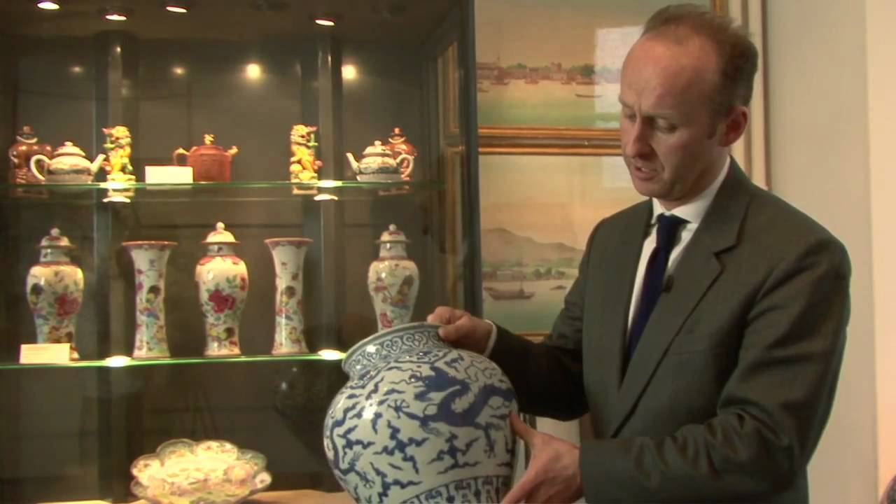 Looking At A Ming Dynasty Porcelain Dragon Vase Youtube