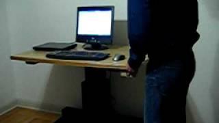 Diy Height Adjustable Desk, Leviteq.com