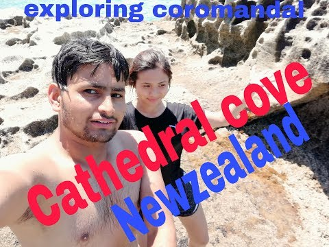Cathedral cove New Zealand exploring coromandal