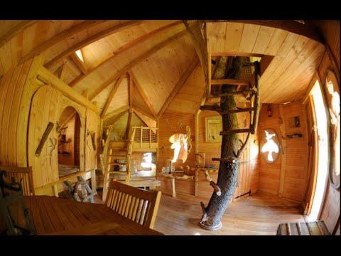 Dormir dans une cabane dans les arbres flayosc les cabanes du varon you - Les cabanes du trappeur ...