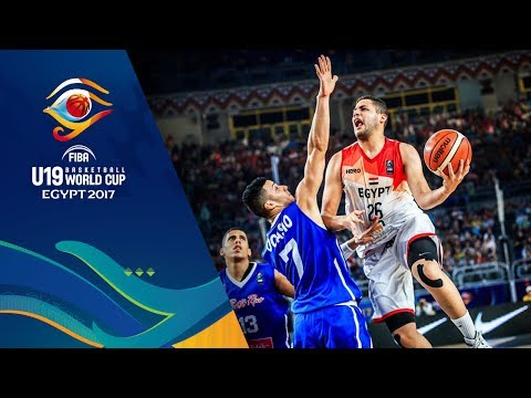 Egypt v Puerto Rico - Full Game - FIBA U19 Basketball World Cup 2017