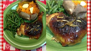 Honey Roasted Chicken ~ Noreen's Kitchen