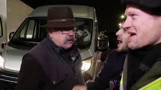 Gilets jaunes et CGT bloquent Rungis (5 février 2019, Chevilly-Larue, France)