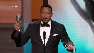 "The 47th NAACP Image Awards: Terrence Howard Wins for ""Empire"""