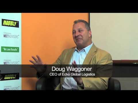 Doug Waggoner, CEO of Echo Global Logistics