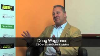 Doug Waggoner, CEO of Echo Global Logistics