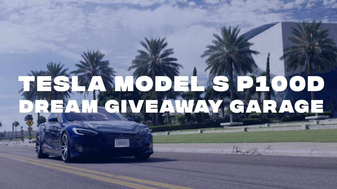 Tesla Model S P100D up for grabs in Dream Giveaway's first