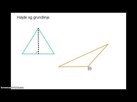 Geometri - Højde og grundlinje from YouTube · Duration:  2 minutes 31 seconds