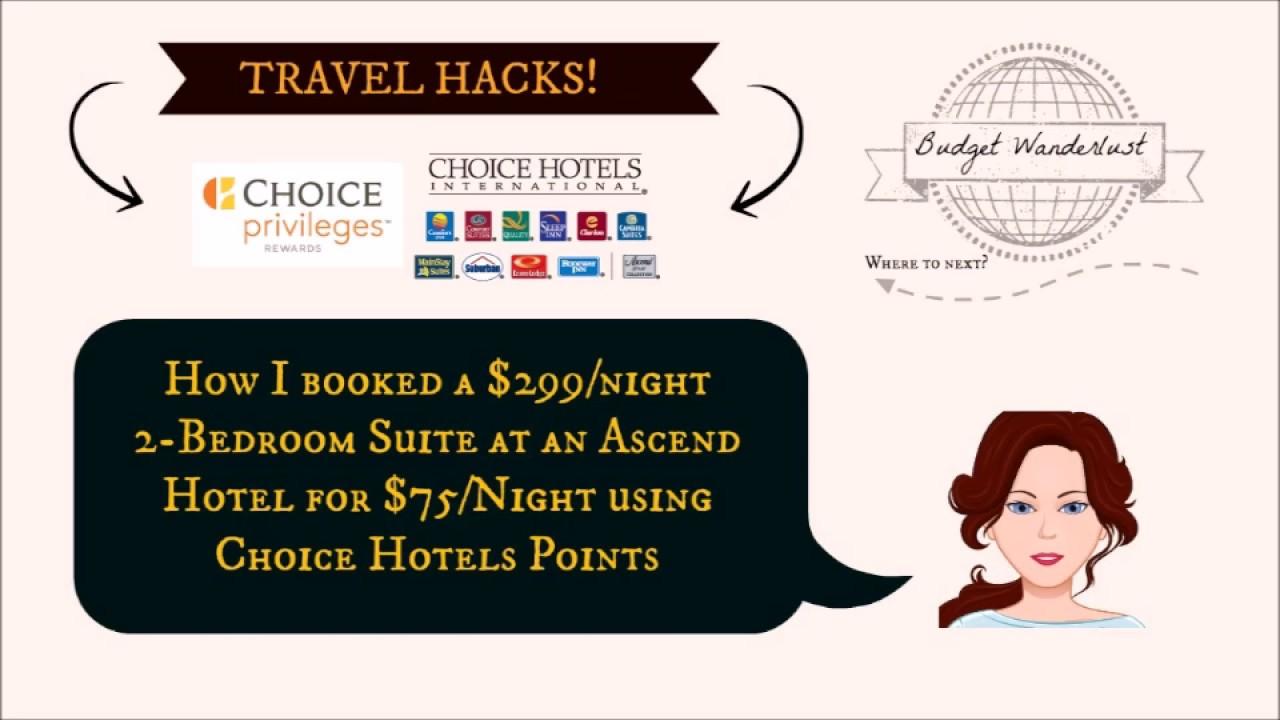 Choice Hotels Hacks