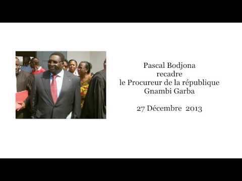 Pascal Bodjona recadre le Procureur Gnambi Garba en pleine émission [27/12/13]