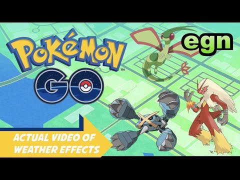 Electronic Gamers Night's PoGo Weather Report *Gameplay*