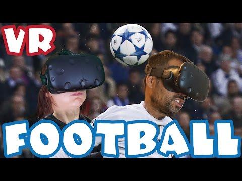 JUEGO DE FÚTBOL EN REALIDAD VIRTUAL -  HTC Vive Gameplay