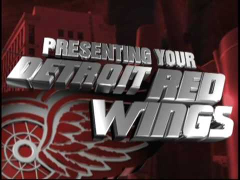 2009 Detroit Red Wings Playoff Intro Video