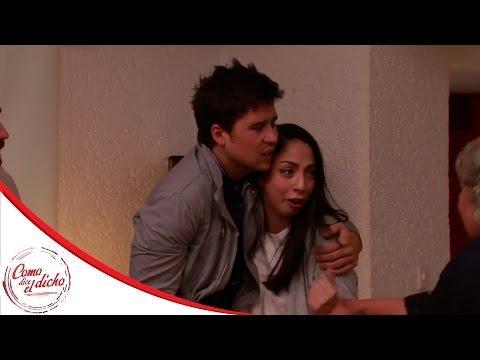 Emma y Óscar, escapan juntos | Del mal juicio la experiencia... | Como dice el dicho
