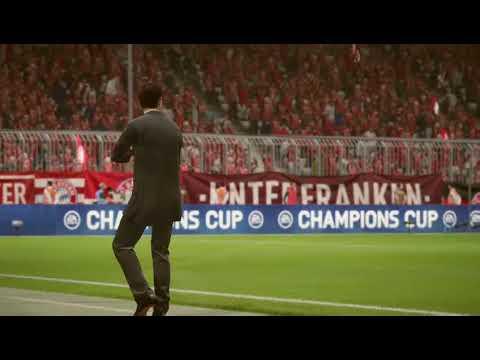 FIFA 18: UEFA CHAMPIONS LEAGUE / FC BAYERN MUNCHEN vs REAL MADRID