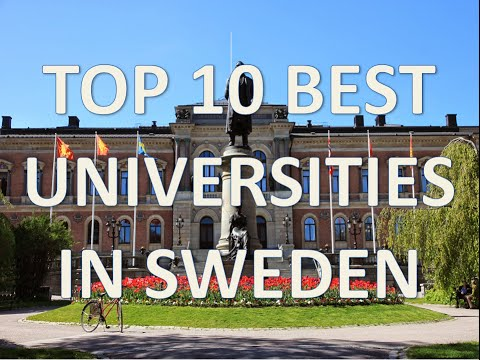 Top 10 Best Universities In Sweden/Top 10 Mejores Universidades De Suecia