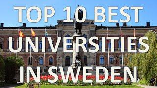 Top 10 Best Universities In Sweden/Top 10 Mejores Universidades De Suecia thumbnail