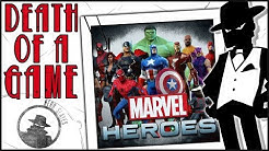 Death of a Game: Marvel Heroes (Marvel Universe Online)