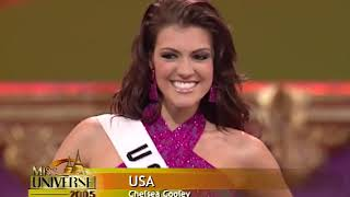 Top 15: 2005 Miss Universe