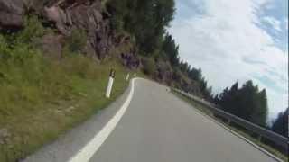 Passo Valles Italy Moto Guzzi 1200 8V Stelvio BMW F800ST on board