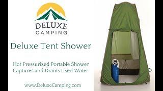 Deluxe Tent Shower - DeluxeCamping.com
