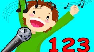 Lagu Anak | 123 Belajar nombor Anak anak  Malysia nombor untuk anak anak