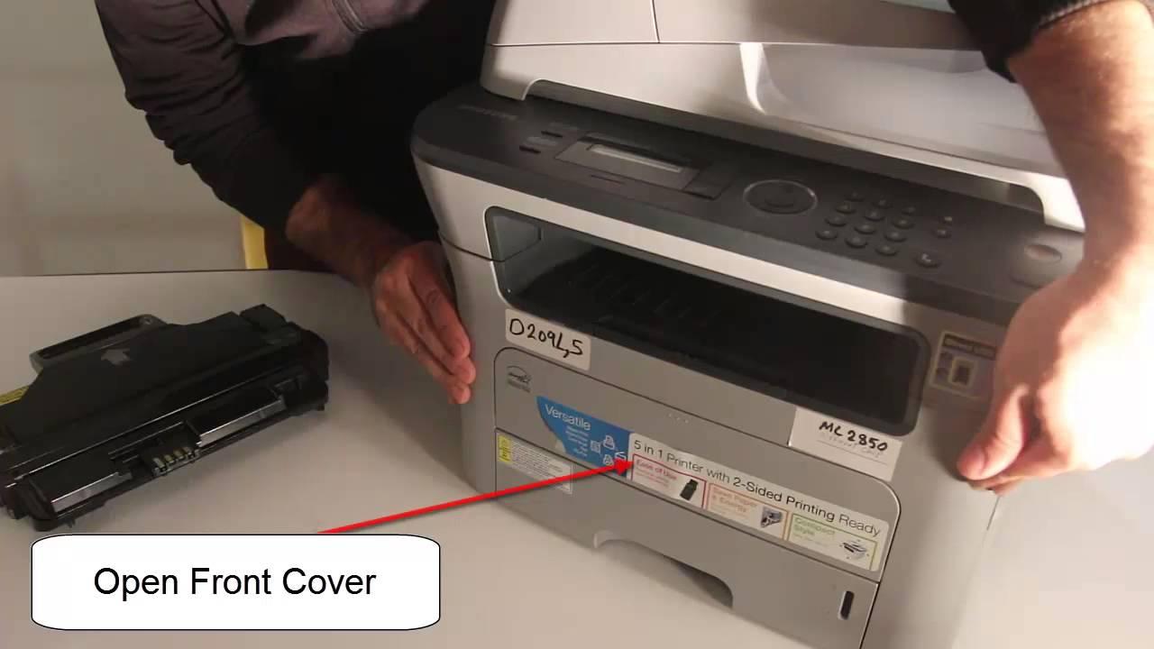Samsung SCX-4828F Printer Drivers for Windows 7
