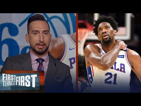 Embiid's sprain is a blow for 76ers, Rockets small ball paying off? | NBA | FIRST THINGS FIRST