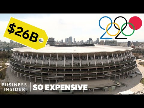 How The Tokyo Olympics Became The Most Expensive Summer Games  Ever | So Expensive