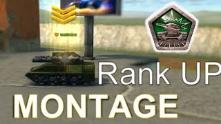 Tanki Online Rank UP MONTAGE-COMPILATION (SlowMotions)