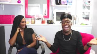 """CoCo of BET's """"Ink, Paper, Scissors"""" Dishes on Drama with Inkman & Baby Girl"""