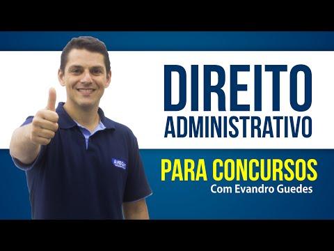 Direito Administrativo Aula Gratuita (CESPE - ESAF) - Evandro Guedes - AlfaCon Concursos Públicos