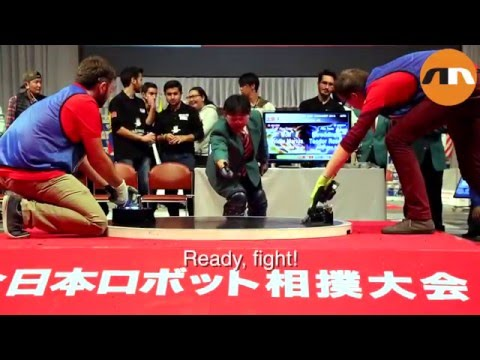 International Robot Sumo 2015