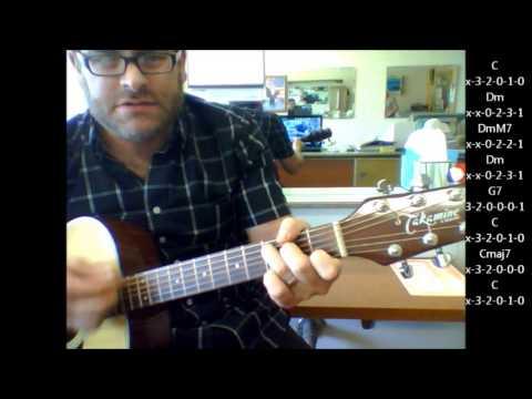 """How to play """"Quando, Quando, Quando"""" by Engelbert Humperdinck on acoustic guitar"""