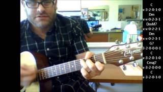 "How to play ""Quando, Quando, Quando"" by Engelbert Humperdinck on acoustic guitar"