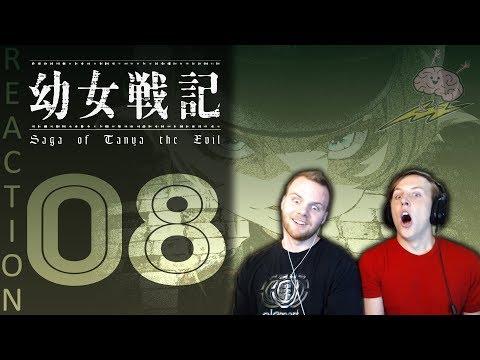 SOS Bros React  Saga of Tanya the Evil Episode 8  Collateral Damage