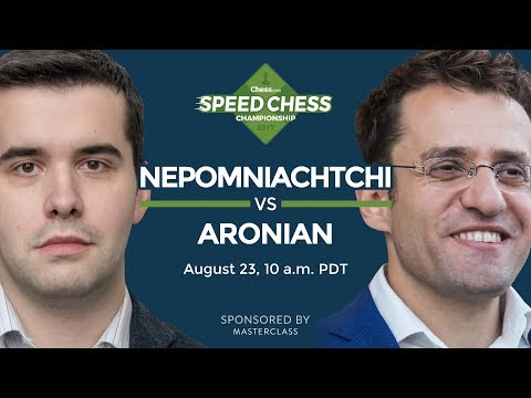 Speed Chess Championship: Ian Nepomniachtchi vs Levon Aronia