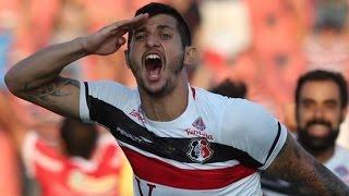 Gols, Mogi Mirim 0 x 3 Santa Cruz - Brasileirão Série B 21/11/2015