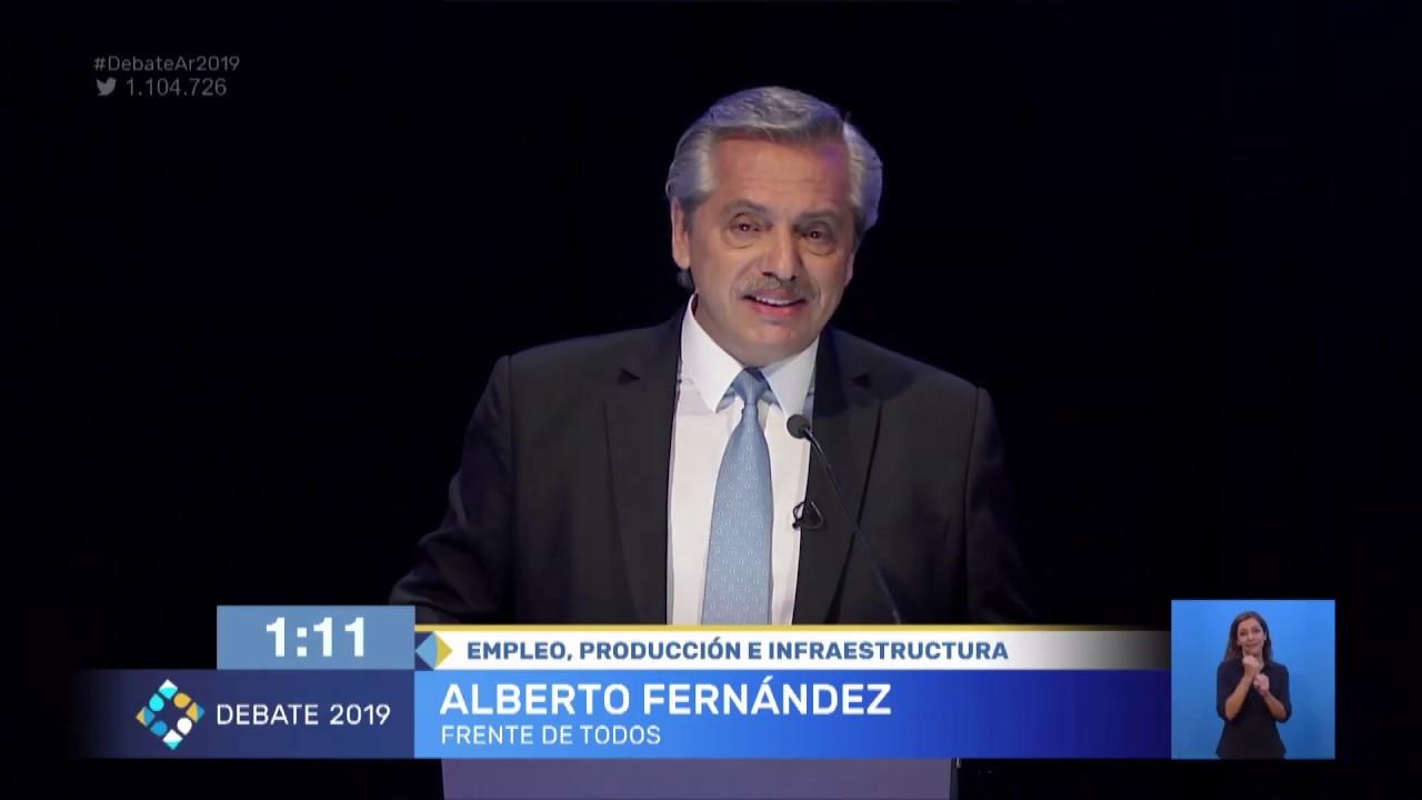 El empleo y la producción en el centro del debate presidencial
