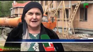 До завершения масштабных строительных работ в Октябрьском районе Грозного осталось меньше месяца