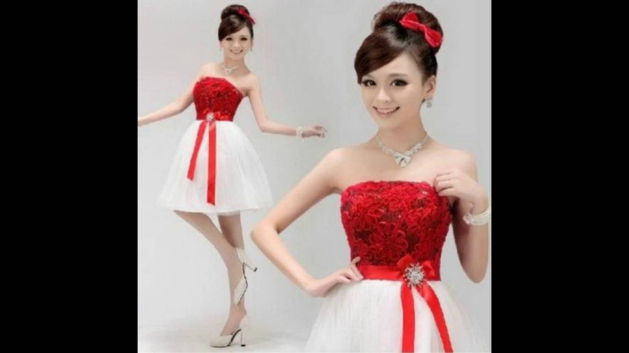 edcf42148 Vestido de dama de quinceañera - YouTube