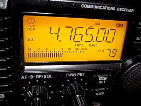 4765kHz Tajik Radio, Dushanbe, Tajikistan : IC-R75