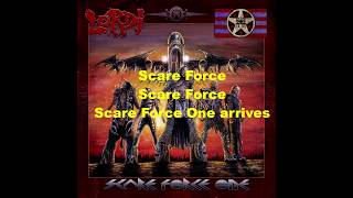 Lordi - Scare Force One Lyrics