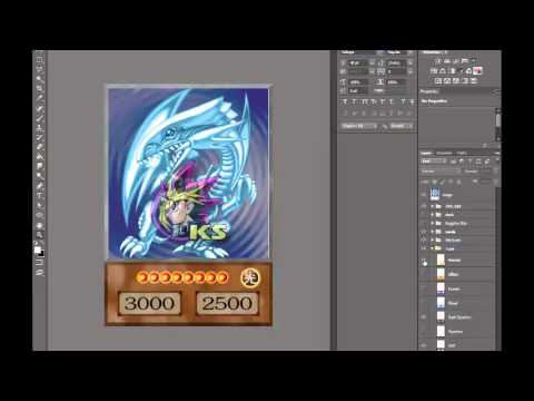 Yu gi oh anime card template youtube for Yugioh mat template