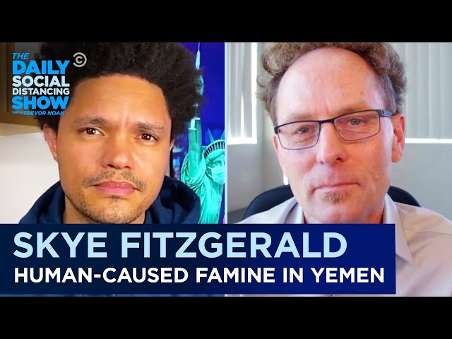 """Skye Fitzgerald - """"Hunger Ward"""" & Documenting Yemen's Famine 