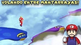 Volando entre MANTARRAYAS !! - Jugando Newer Super Mario Bros Wii con Pepe el Mago (#7)