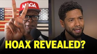 Jussie Smollett's Story Falls Completely Apart, Hoax Begins To Materialize!