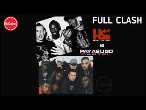 Heartless Crew v Pay As You Go Crew – FULL CLASH Recording from Destinys – 2001 [Good Quality]
