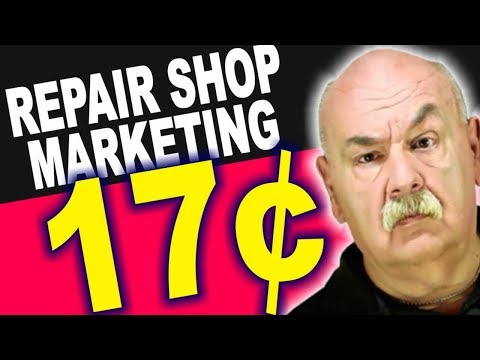 Auto Repair Shop Marketing – ONLY 17¢ !